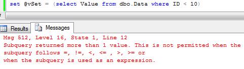 Sunday T-SQL Tip (on Thursday): Set vs  Select | About Sql